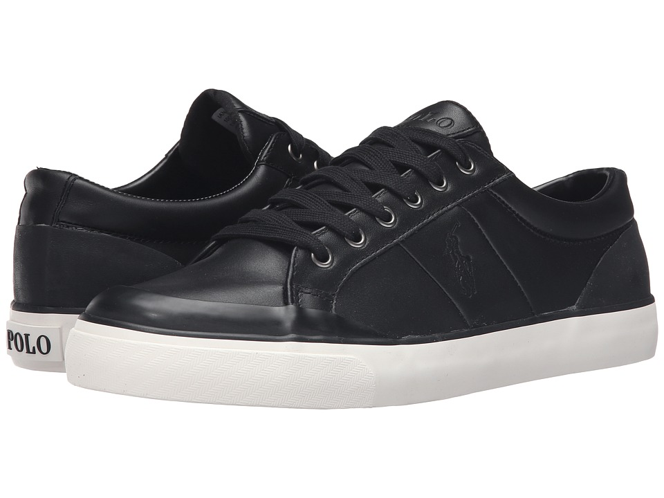 Polo Ralph Lauren - Ian (Black Smooth Sport Leather) Men's Shoes