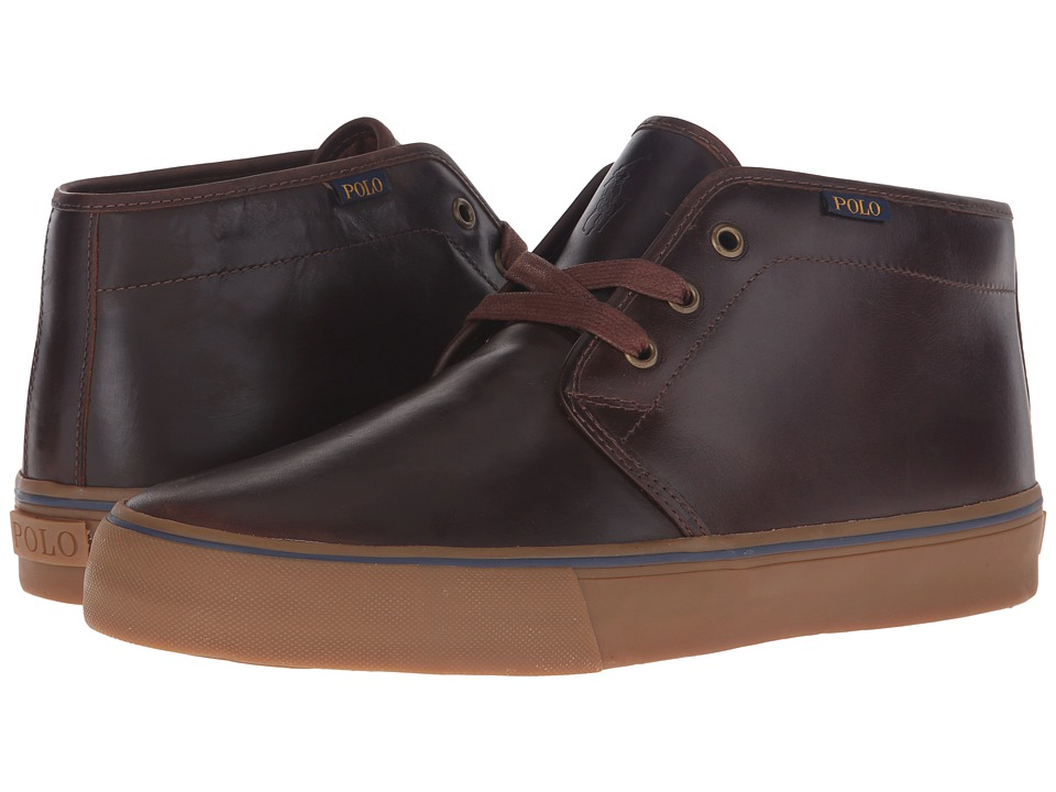 Polo Ralph Lauren - Maykn (Tan Smooth Oil Leather) Men's Shoes