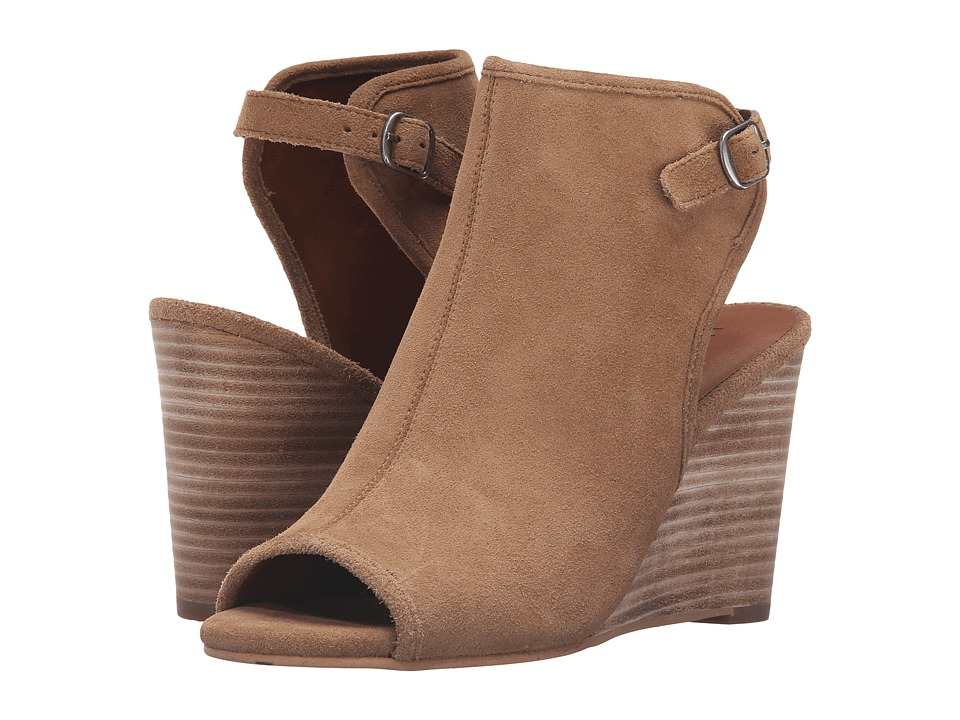 Lucky Brand - Risza (Sesame Oil Suede) Women's Shoes