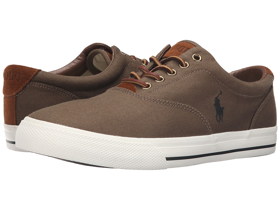 Polo Ralph Lauren - Vaughn (Algae Canvas/Sport Suede) Men's Lace up casual Shoes