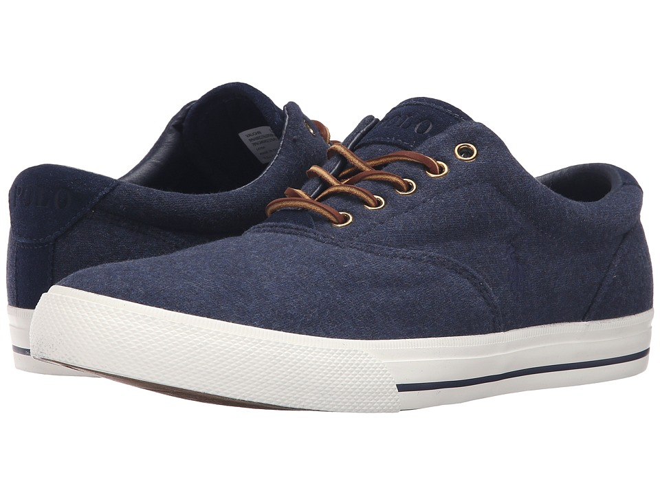 Polo Ralph Lauren - Vaughn (Dark Blue Heather) Men's Lace up casual Shoes