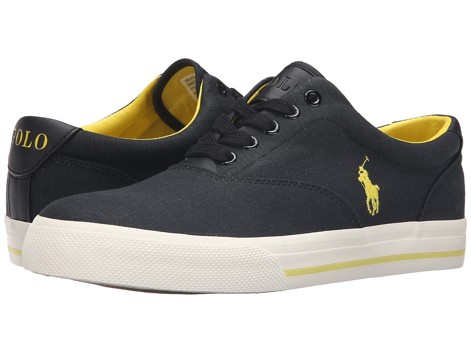 Polo Ralph Lauren - Vaughn (Black Matte Ripstop) Men's Lace up casual Shoes