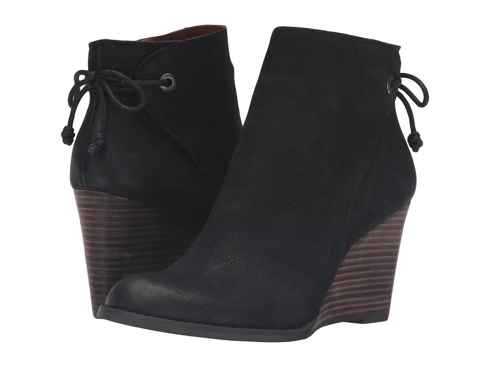 Lucky Brand - Yamina (Black Oxide) Women's Boots
