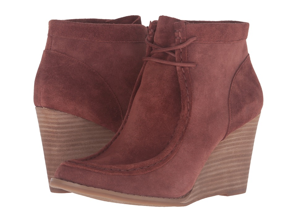 Lucky Brand Ysabel (Russet Oil Suede) Women