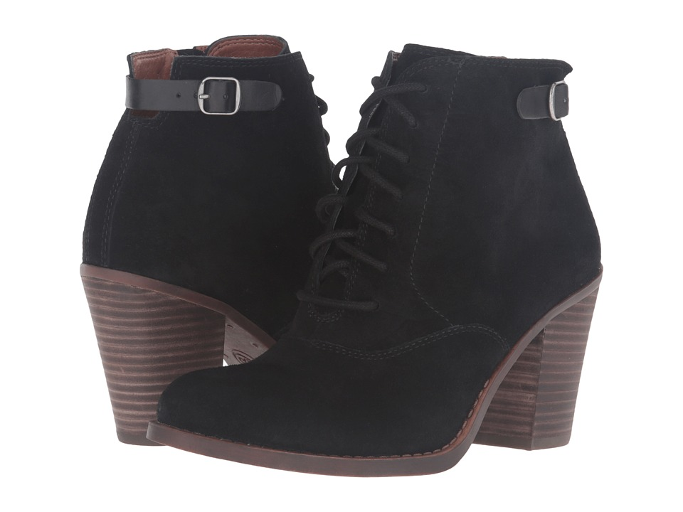 Lucky Brand Echoh (Black Oil Suede) Women
