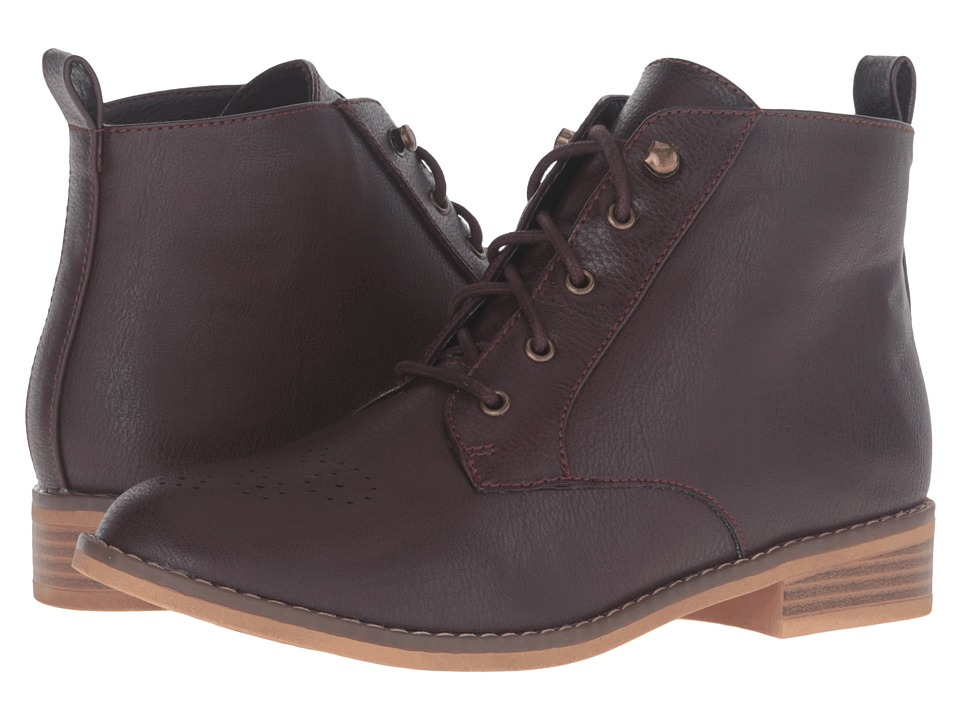 Rocket Dog - Meno (Burgundy Sierras) Women's Boots