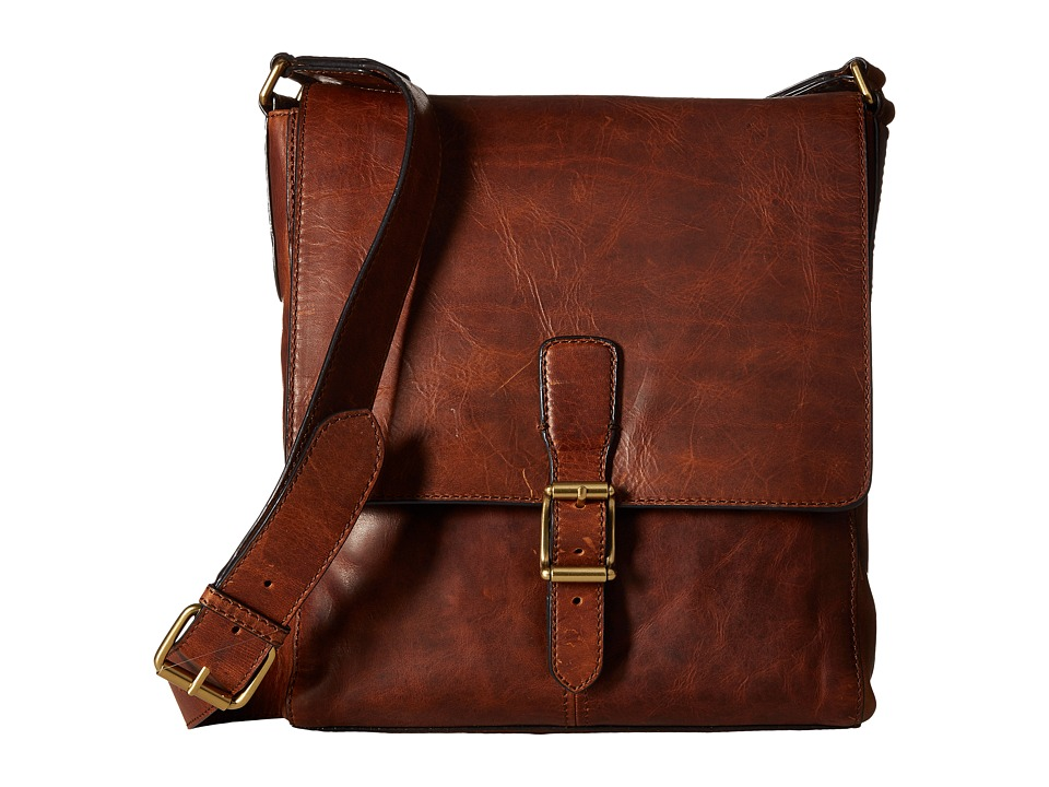 Frye - Logan Small Messenger (Cognac) Messenger Bags