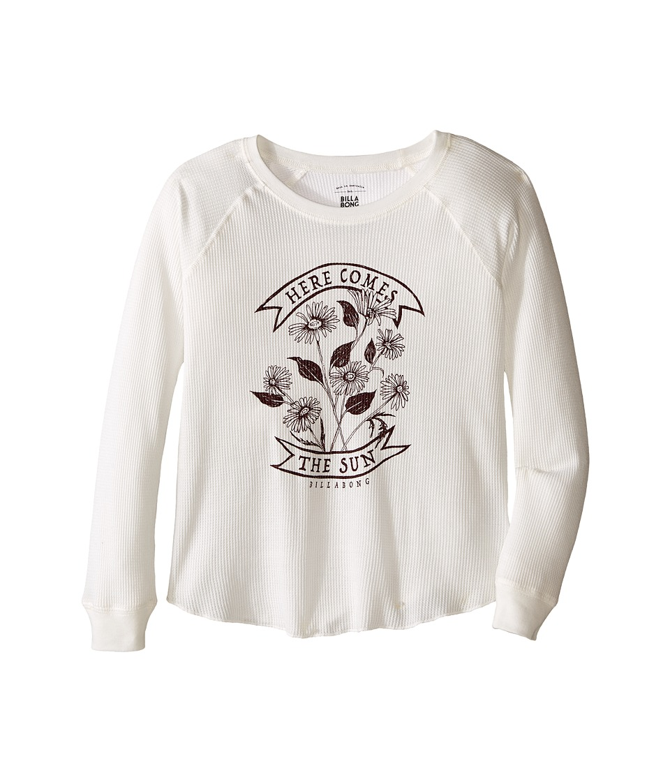 Billabong Kids - Sunshine Daisies Thermal (Little Kids/Big Kids) (Cool Wip) Girl's Clothing