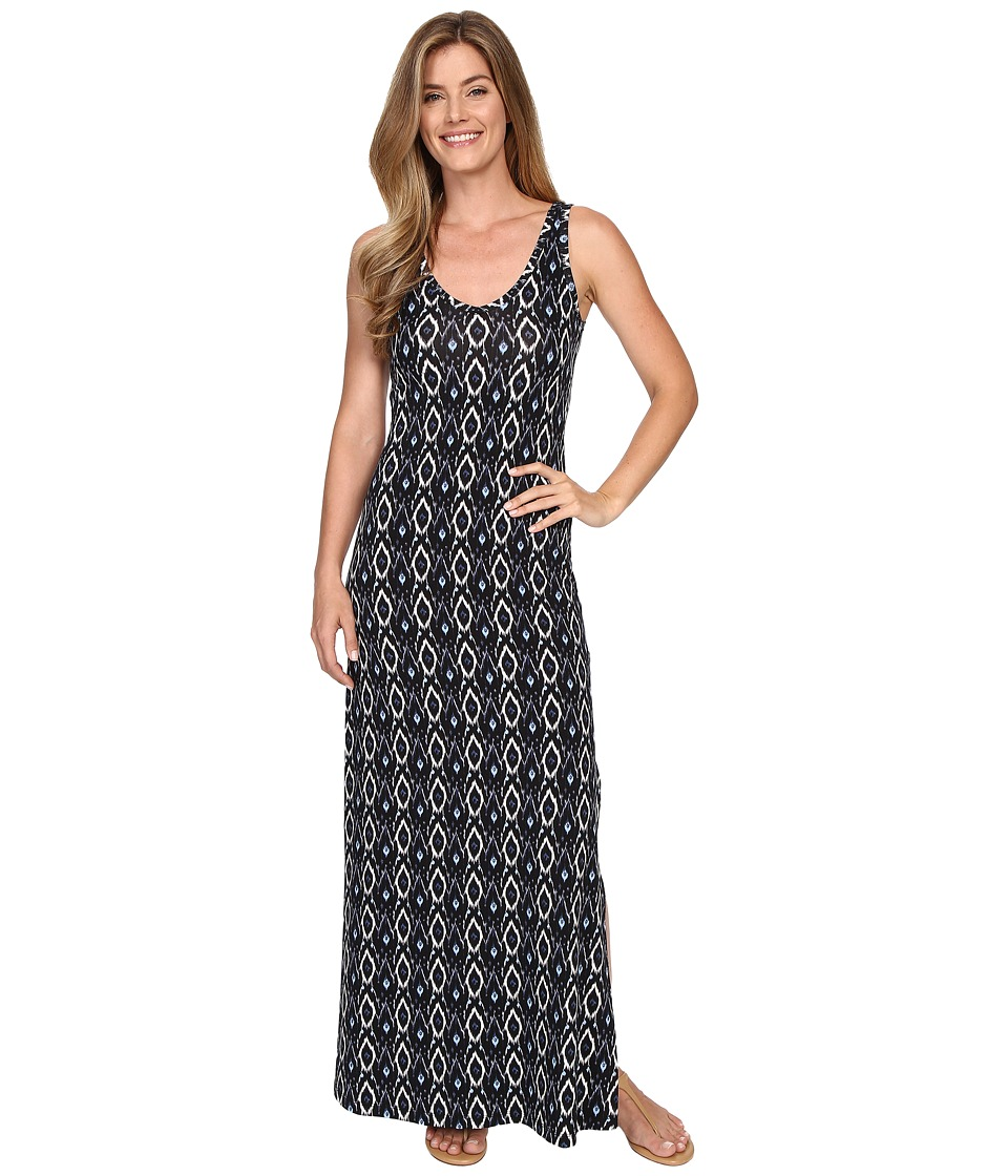 Karen Kane - Diamond Ikat Alana Maxi Dress (Blue) Women's Dress