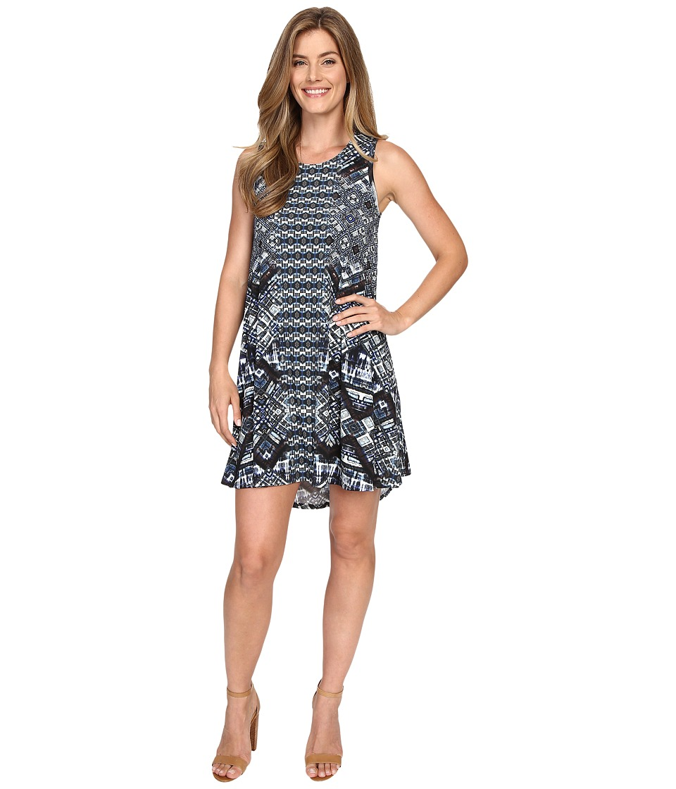 Karen Kane - Sleeveless Maggie Trapeze Dress (Print) Women's Dress