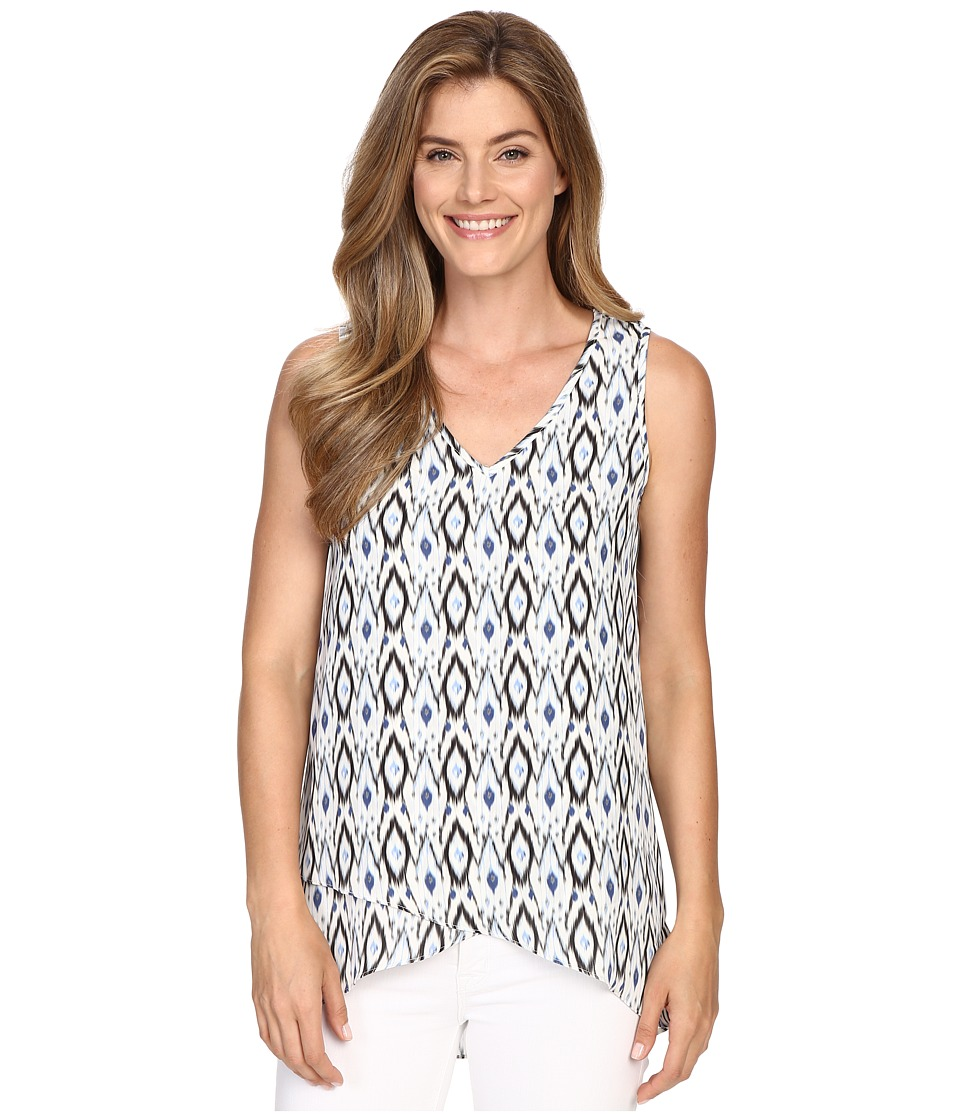 Karen Kane - Asymmetrical Tank Top (Print) Women's Sleeveless