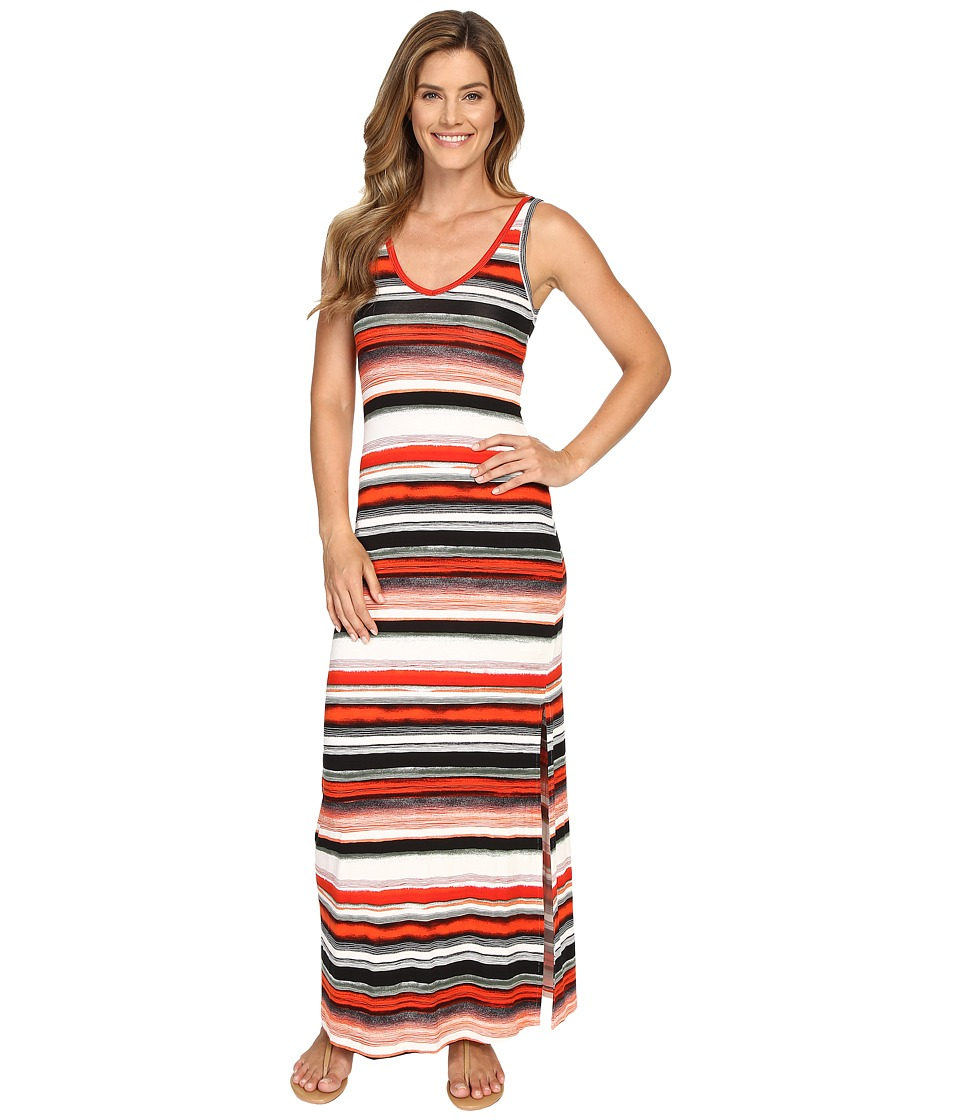 Karen Kane - Alana Maxi Dress (Print) Women's Dress