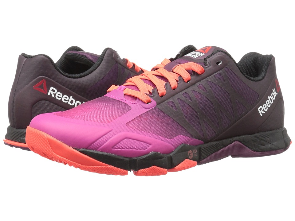 Reebok - Crossfit Speed TR (Rose Rage/Mystic Maroon/Atomic Red/Rebel Berry/Black) Women's Cross Training Shoes