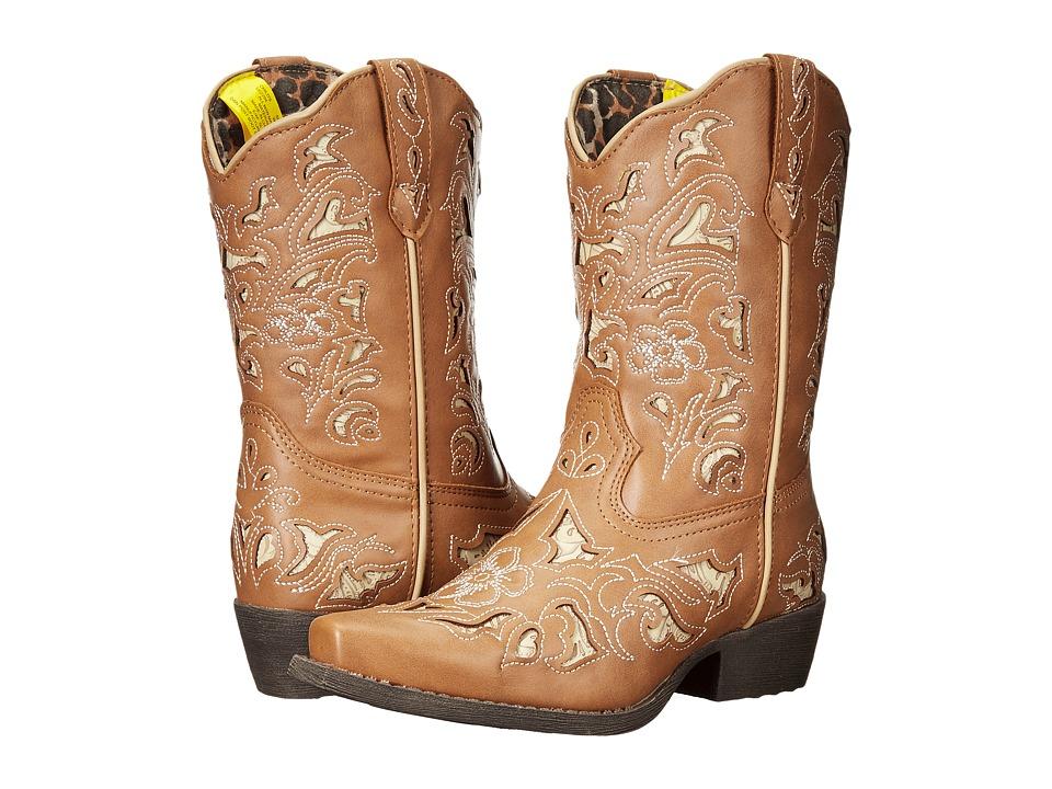 Laredo Kids Sharona (Toddler/Little Kid) (Tan) Cowboy Boots
