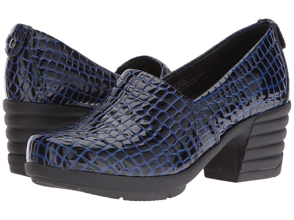 Sanita - Icon President (Blue Croc) Women's Shoes