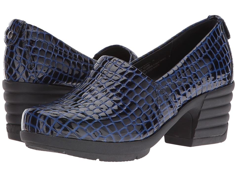 Sanita - Icon President (Blue Croc) Women's Shoes