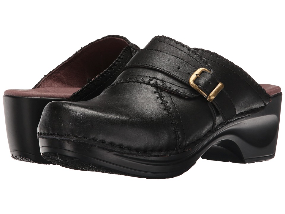 Sanita - Daisy Dolce (Black) Women's Clog Shoes