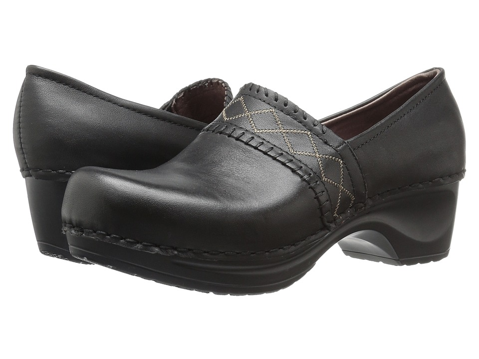 Sanita - Daisy Dazzle (Black) Women's Clog Shoes