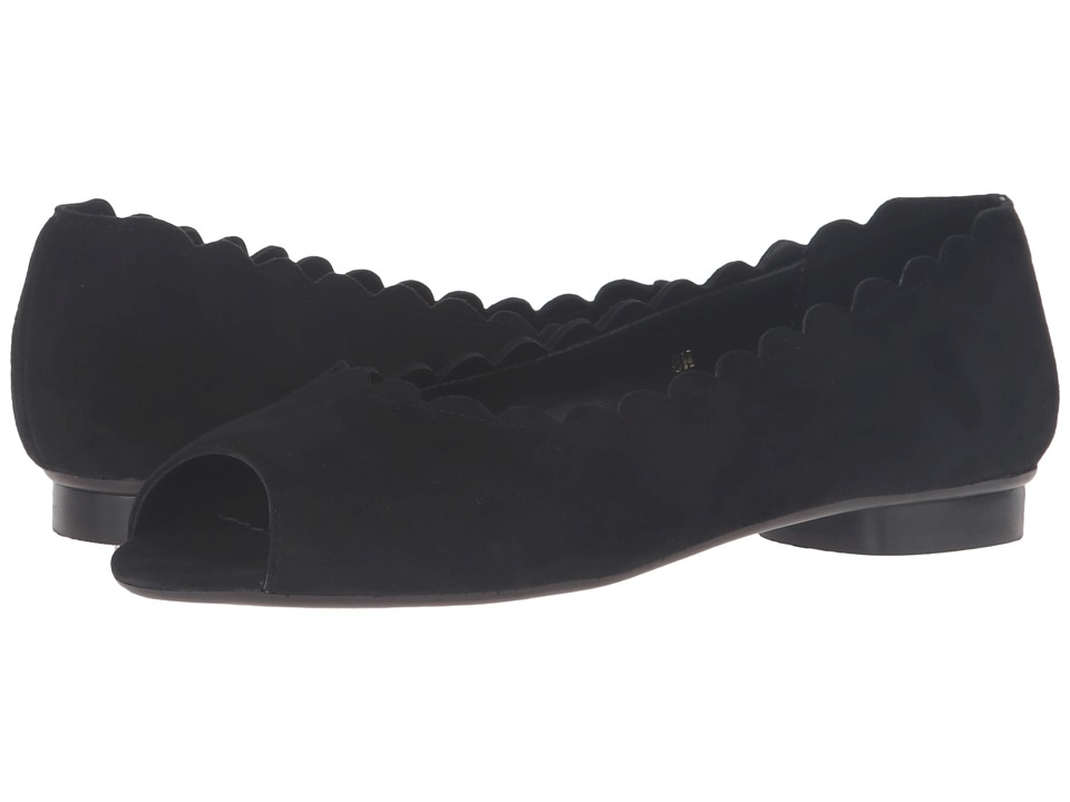 Vaneli - Arty (Black Suede) Women's Shoes