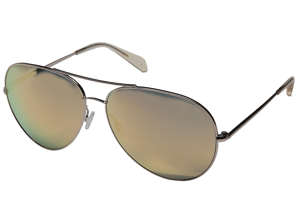 Oliver Peoples - Sayer Custom (Rose Gold/Pink Mirror) Fashion Sunglasses