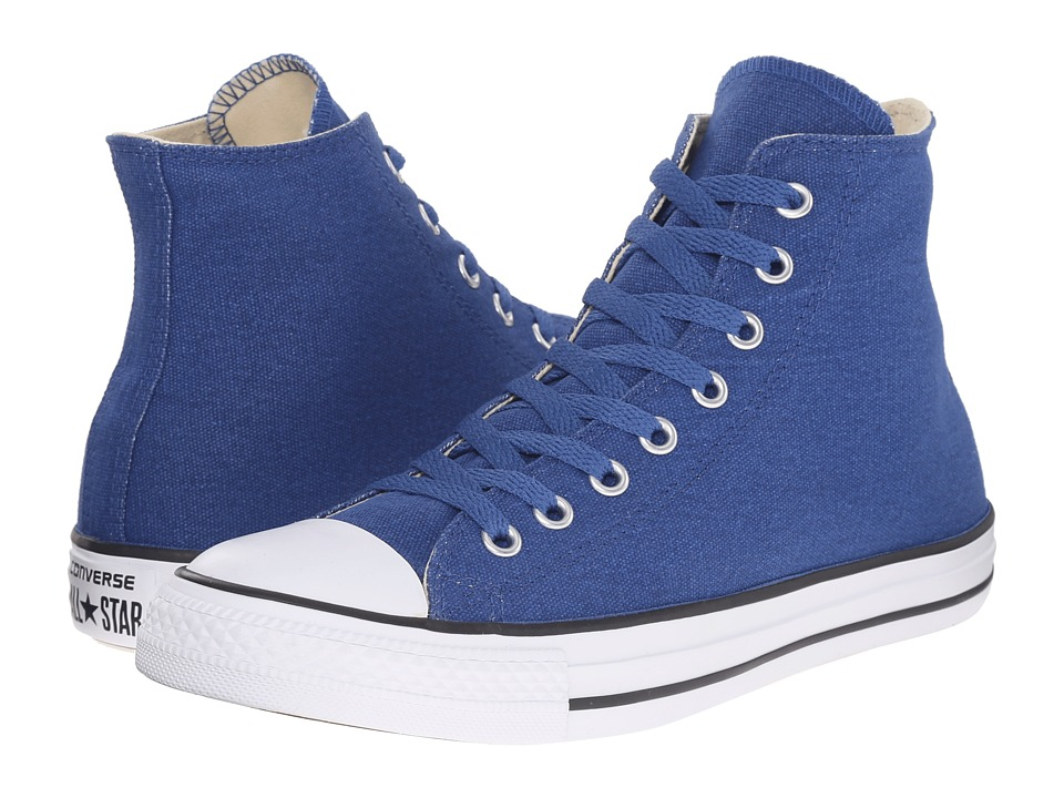 Converse Chuck Taylor(r) All Star Hi (Blue Jay/Black) Lace up casual Shoes