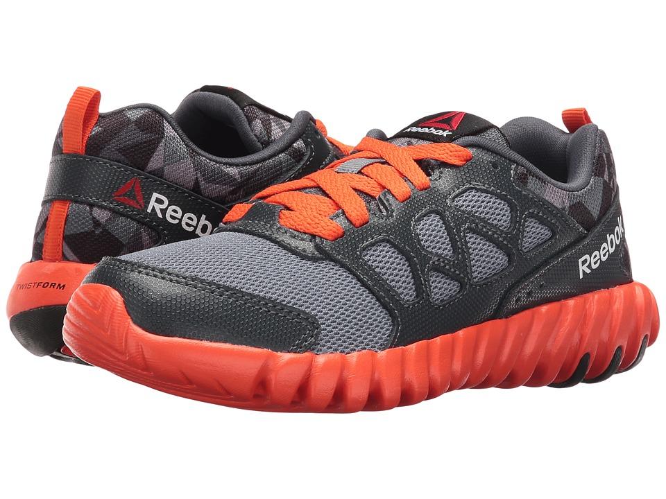 Reebok Kids - Twistform Blaze 2.0 PP (Little Kid) (Asteroid Dust/Nocturnal Grey/Flux Orange/Black) Boys Shoes
