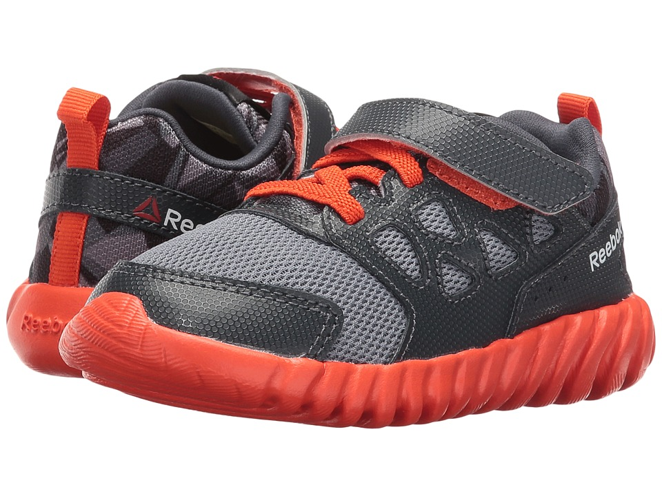 Reebok Kids - Twistform Blaze 2.0 ALT PP (Toddler) (Asteroid Dust/Nocturnal Gray/Flux Orange/Black) Boys Shoes