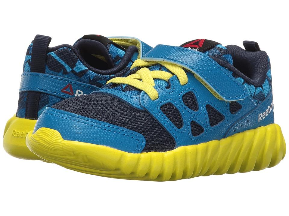 Reebok Kids - Twistform Blaze 2.0 ALT PP (Toddler) (Collegiate Navy/Instinct Blue/Hero Yellow) Boys Shoes