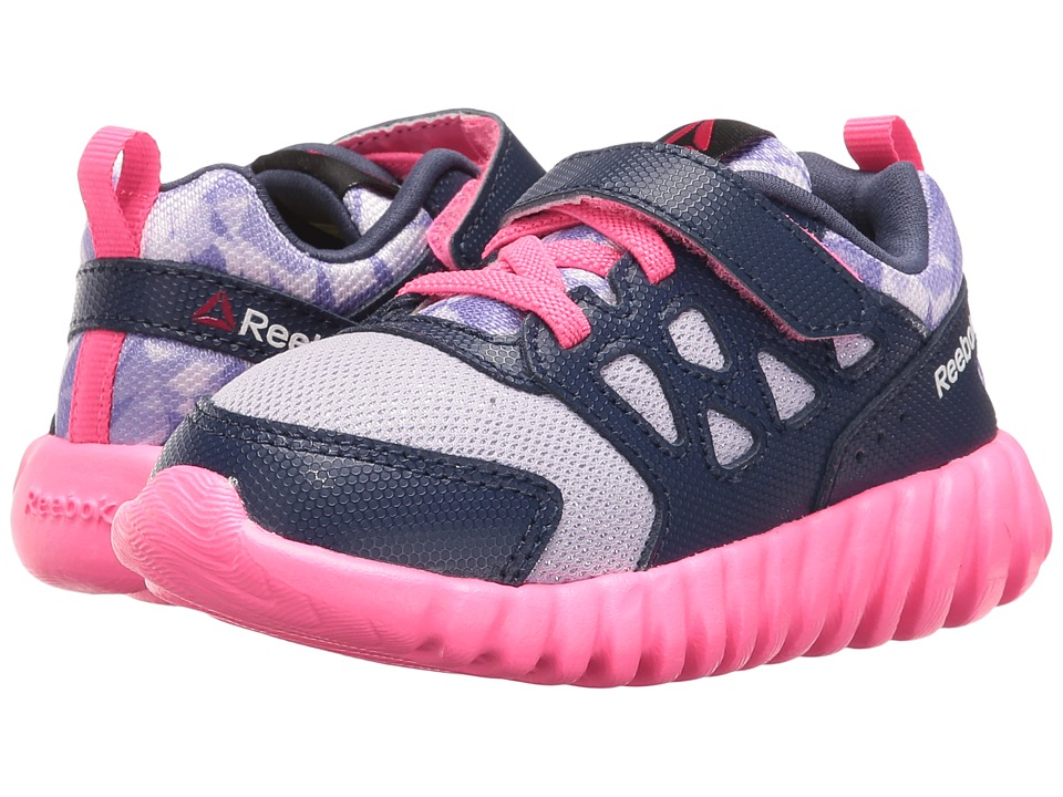 Reebok Kids - Twistform Blaze 2.0 ALT PP (Toddler) (Lavender/Blue Ink/Poison Pink) Girls Shoes