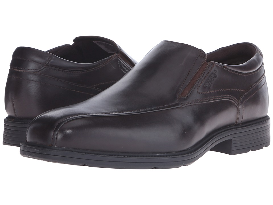 Rockport - Bondholder Bike Slip-On (Dark Bitter Chocolate) Men's Slip on Shoes