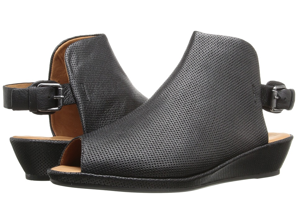 Gentle Souls - Lyla (Black Leather) Women's Shoes