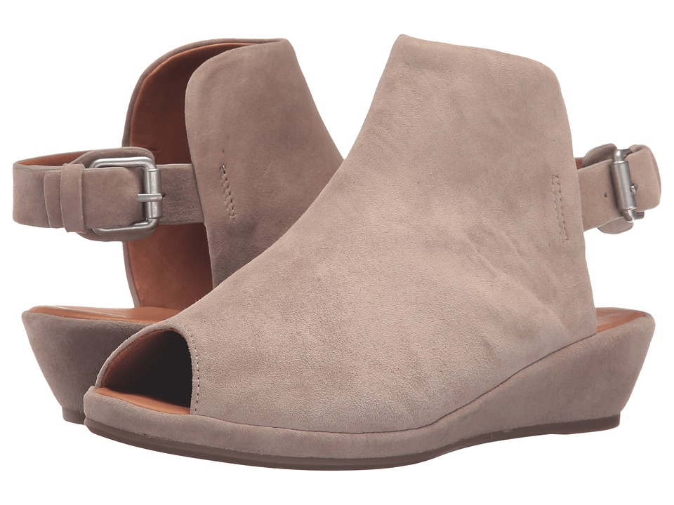 Gentle Souls - Lyla (Stone Suede) Women's Shoes