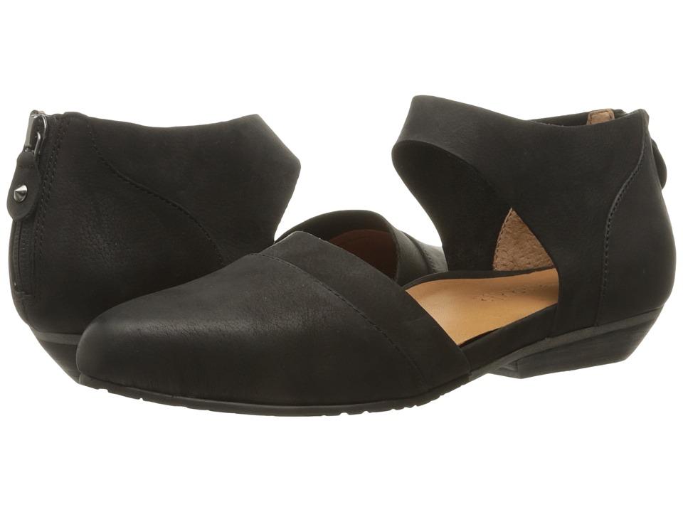 Gentle Souls - Noreen (Black Nubuck) Women's Shoes