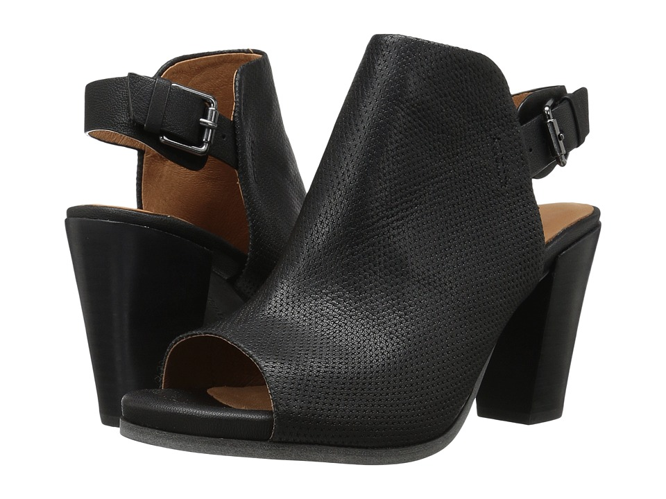 Gentle Souls - Shiloh (Black Leather) Women's Shoes