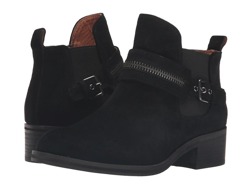 Gentle Souls - Penny (Black Suede) Women's Shoes