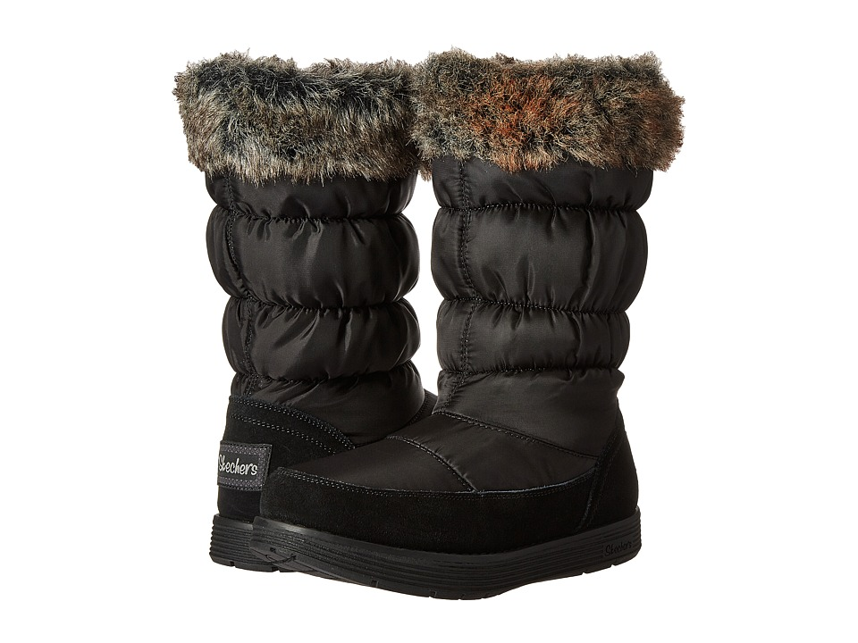 SKECHERS - Adorbs (Black) Women's Boots