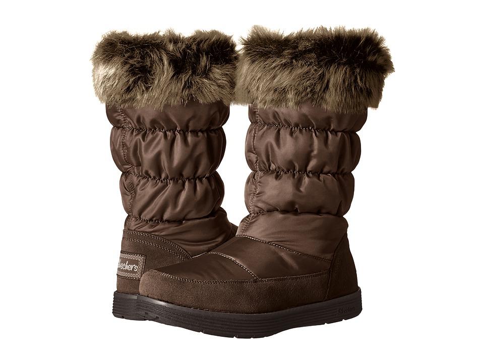 SKECHERS - Adorbs (Chocolate) Women's Boots