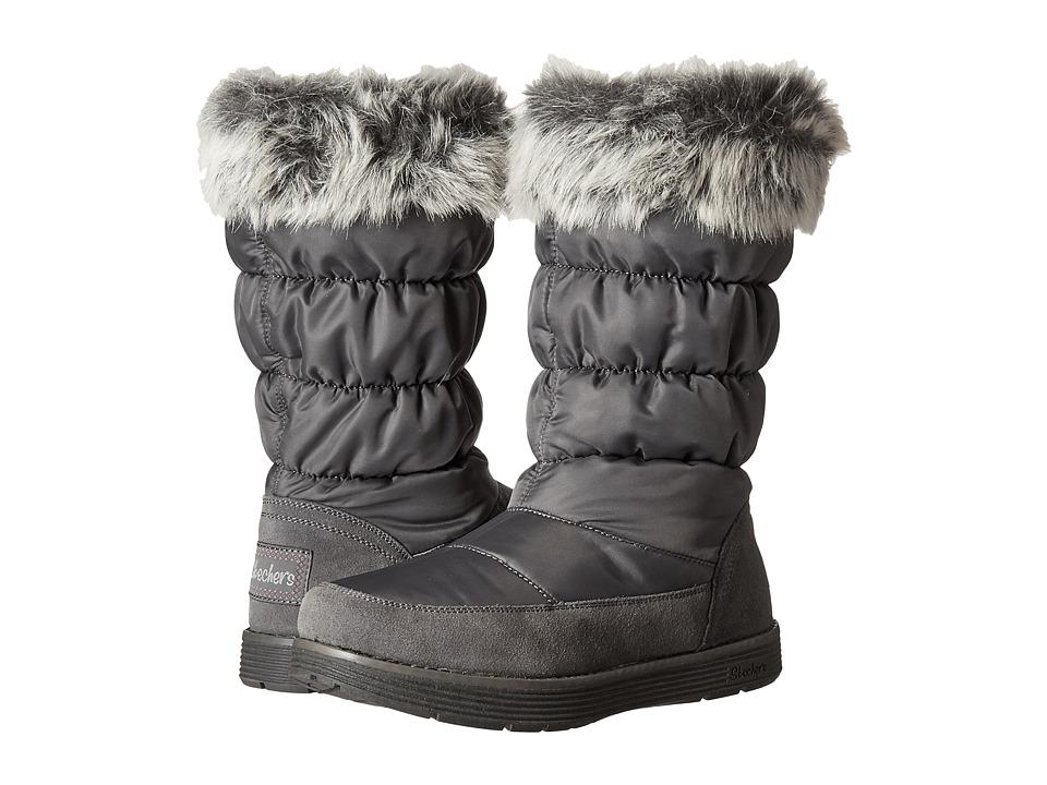SKECHERS - Adorbs (Charcoal) Women's Boots