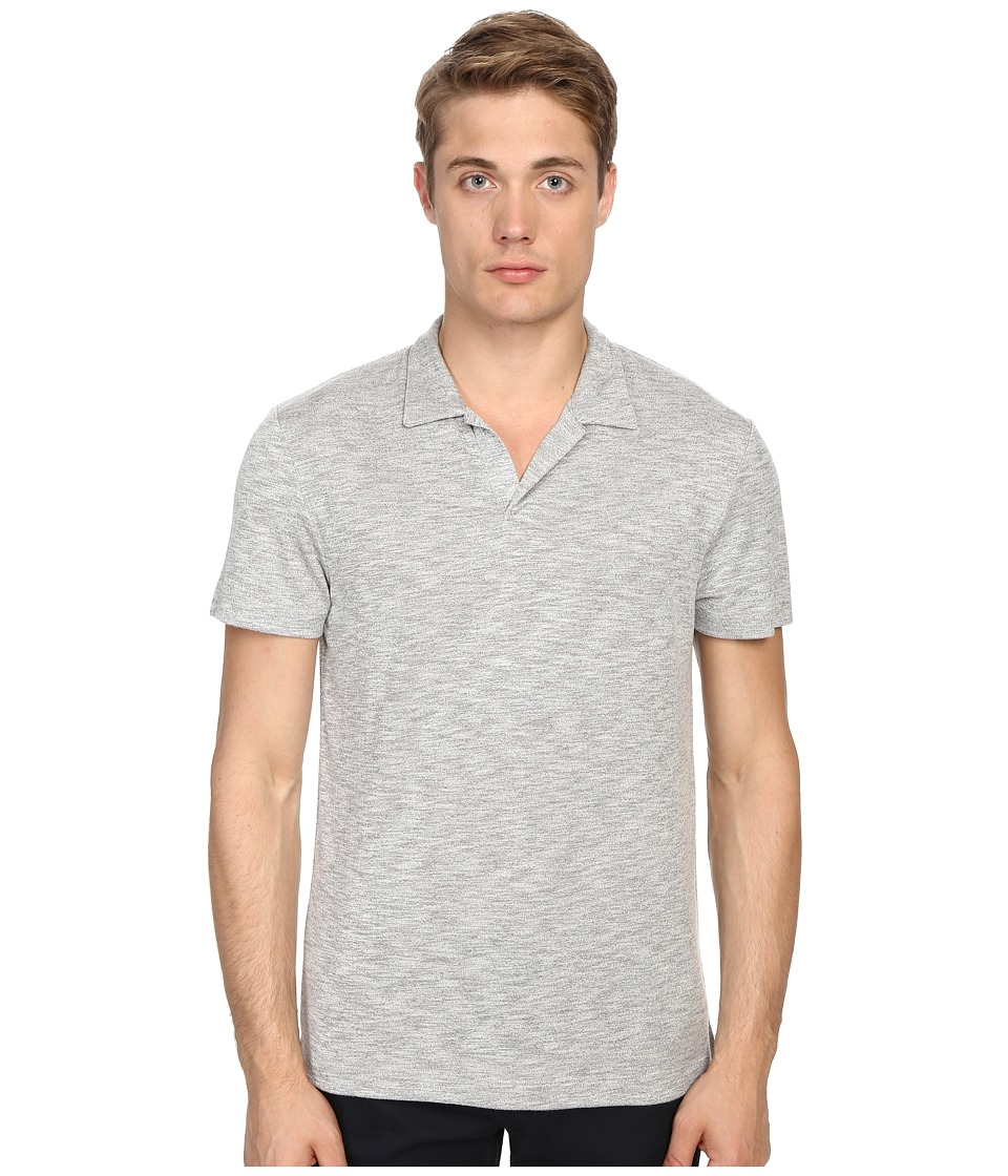 Theory - Willem.Anemone (Gym Grey Multi) Men's Short Sleeve Pullover