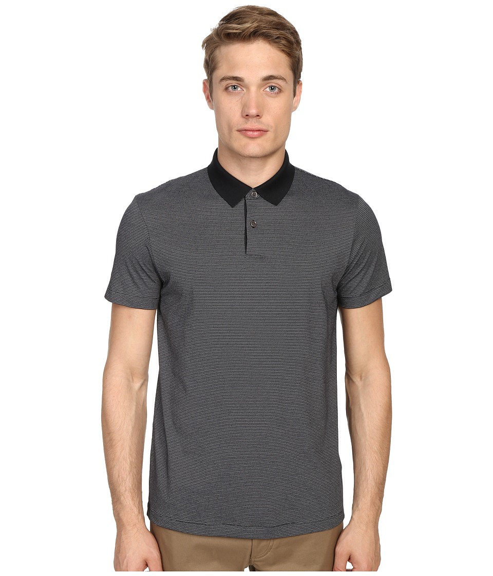 Theory - Sandhurst H.Dotted Polo (Night Multi) Men's Short Sleeve Pullover