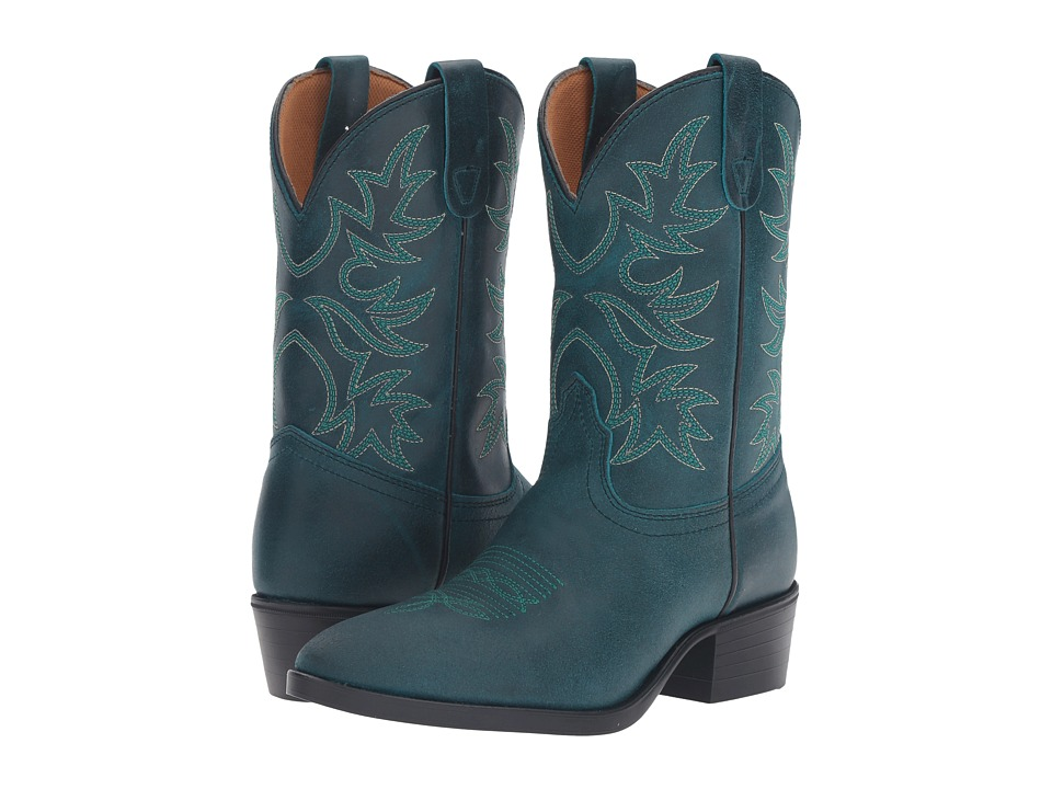 Dan Post Kids - Carter (Toddler/Little Kid) (Turquoise) Cowboy Boots