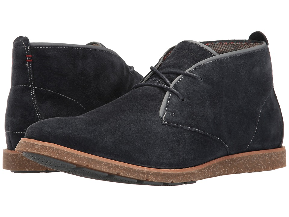 Hush Puppies Roland Jester (Navy Suede) Men