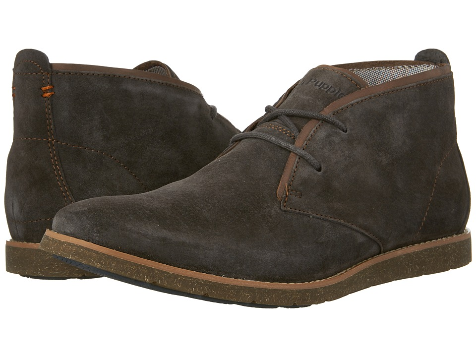 Hush Puppies Roland Jester (Dark Grey Suede) Men