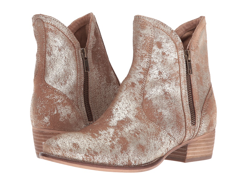 Seychelles Lucky Penny (Gold Distressed) Women