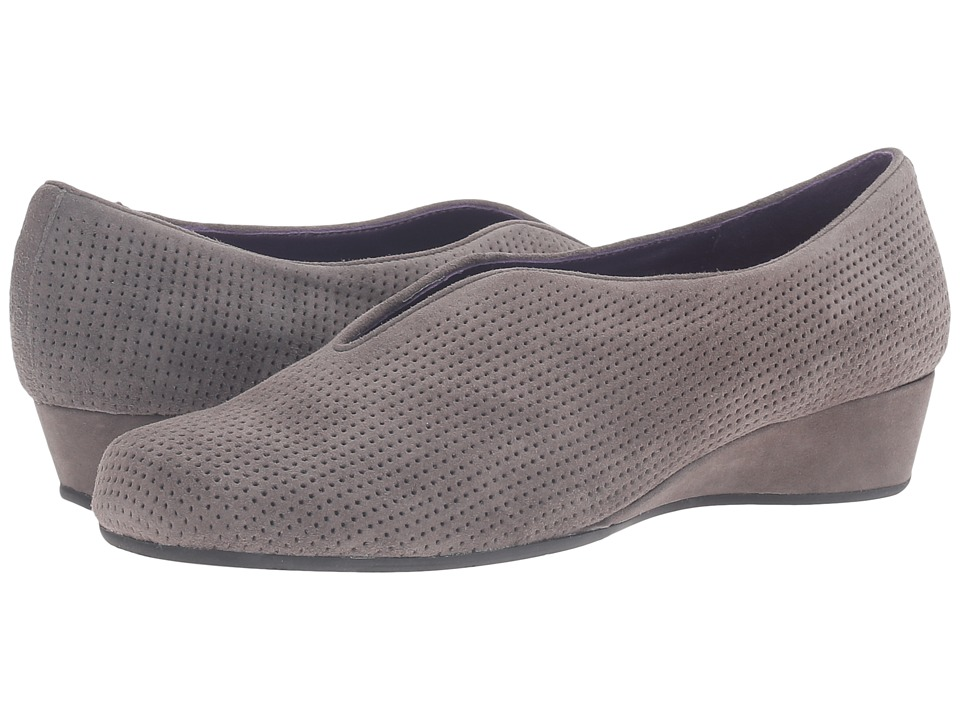 Vaneli - Mango (Grey Perforated Suede) Women's Shoes