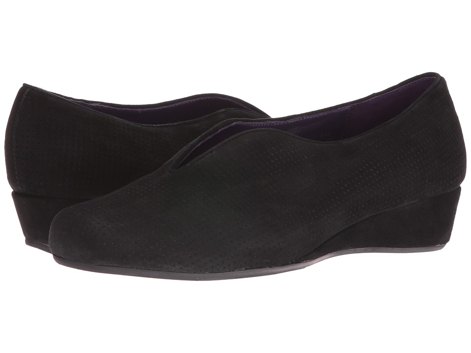 Vaneli - Mango (Black Perforated Suede) Women's Shoes