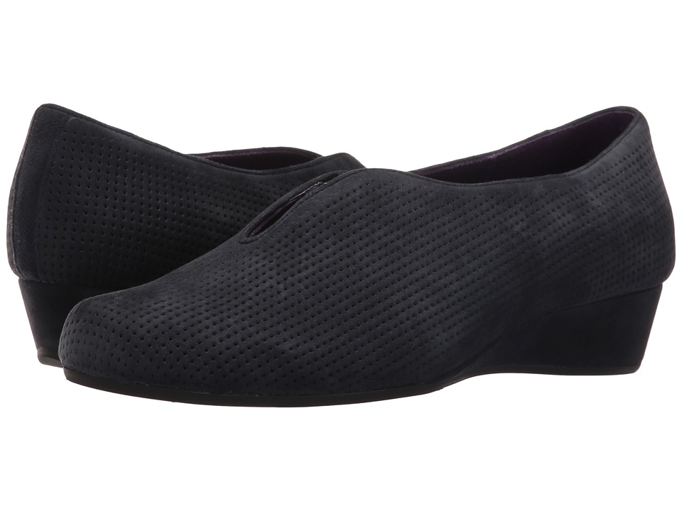 Vaneli - Mango (Navy Perforated Suede) Women's Shoes