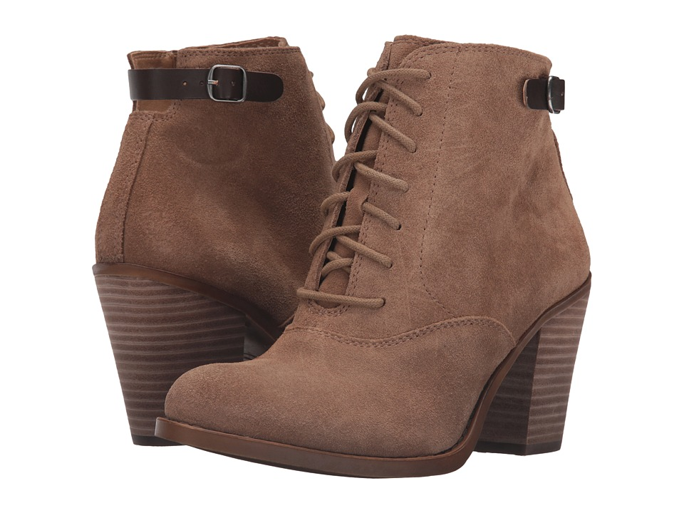 Lucky Brand - Echoh (Sesame Oil Suede) Women's Boots