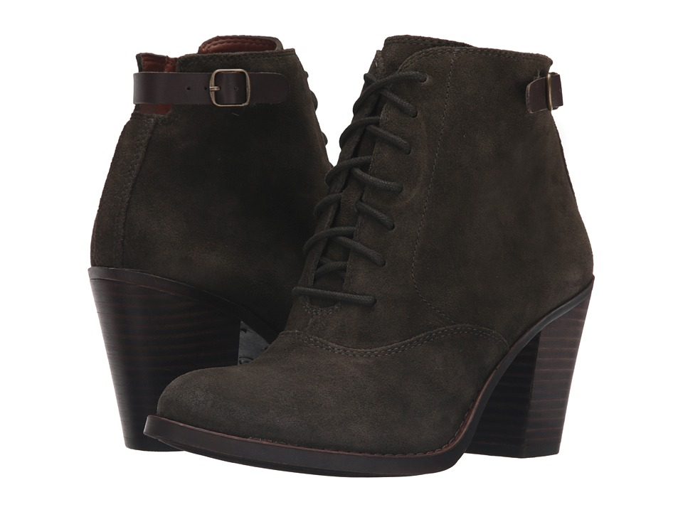 Lucky Brand Echoh (Dark Moss Oil Suede) Women