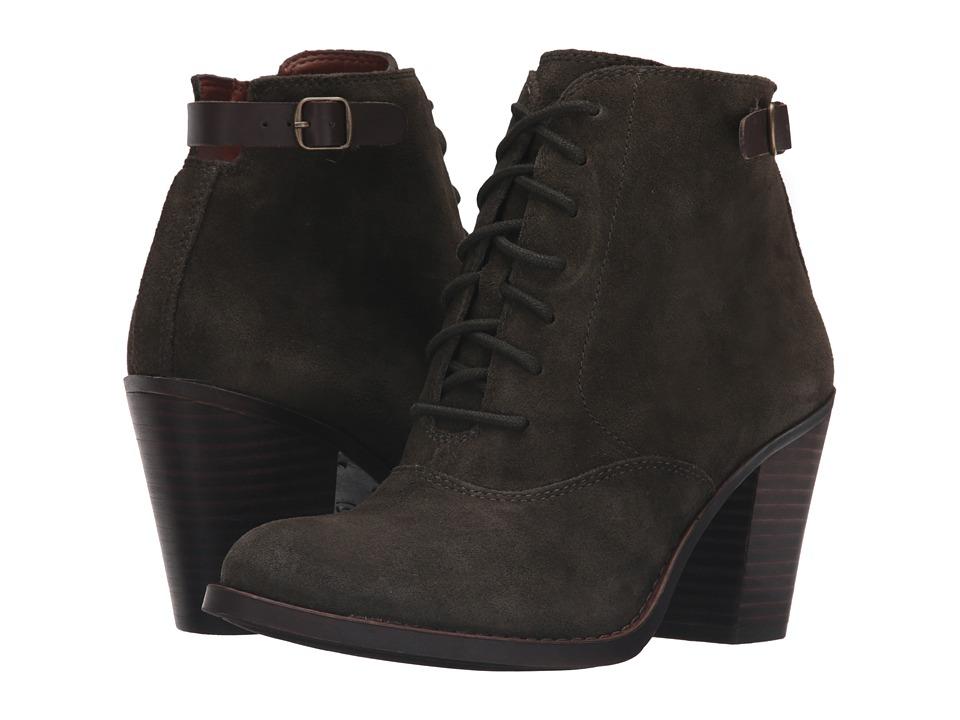 Lucky Brand - Echoh (Dark Moss Oil Suede) Women's Boots
